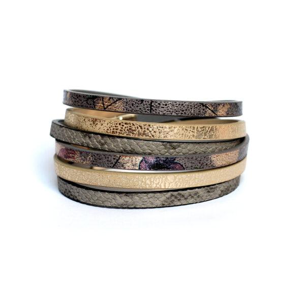 Kociokwik biżuteria Zestaw Fun szaro-złoty