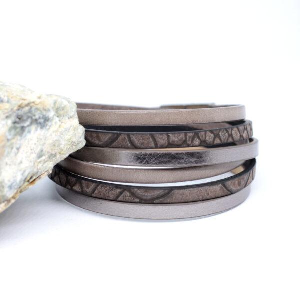 bransoletka-szary-bez-rzemienie-i-stalowe-magnetyczne-zapiecie