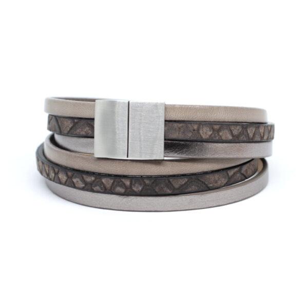bransoletka-szary-bez-rzemienie-i-stalowe-zapiecie