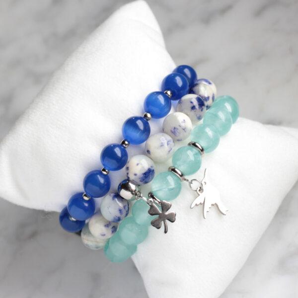 bransoletki-zestaw-niebiesko-chabrowy