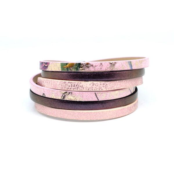damska-bransoletka-w-kolorze-rozu-i-fioletu